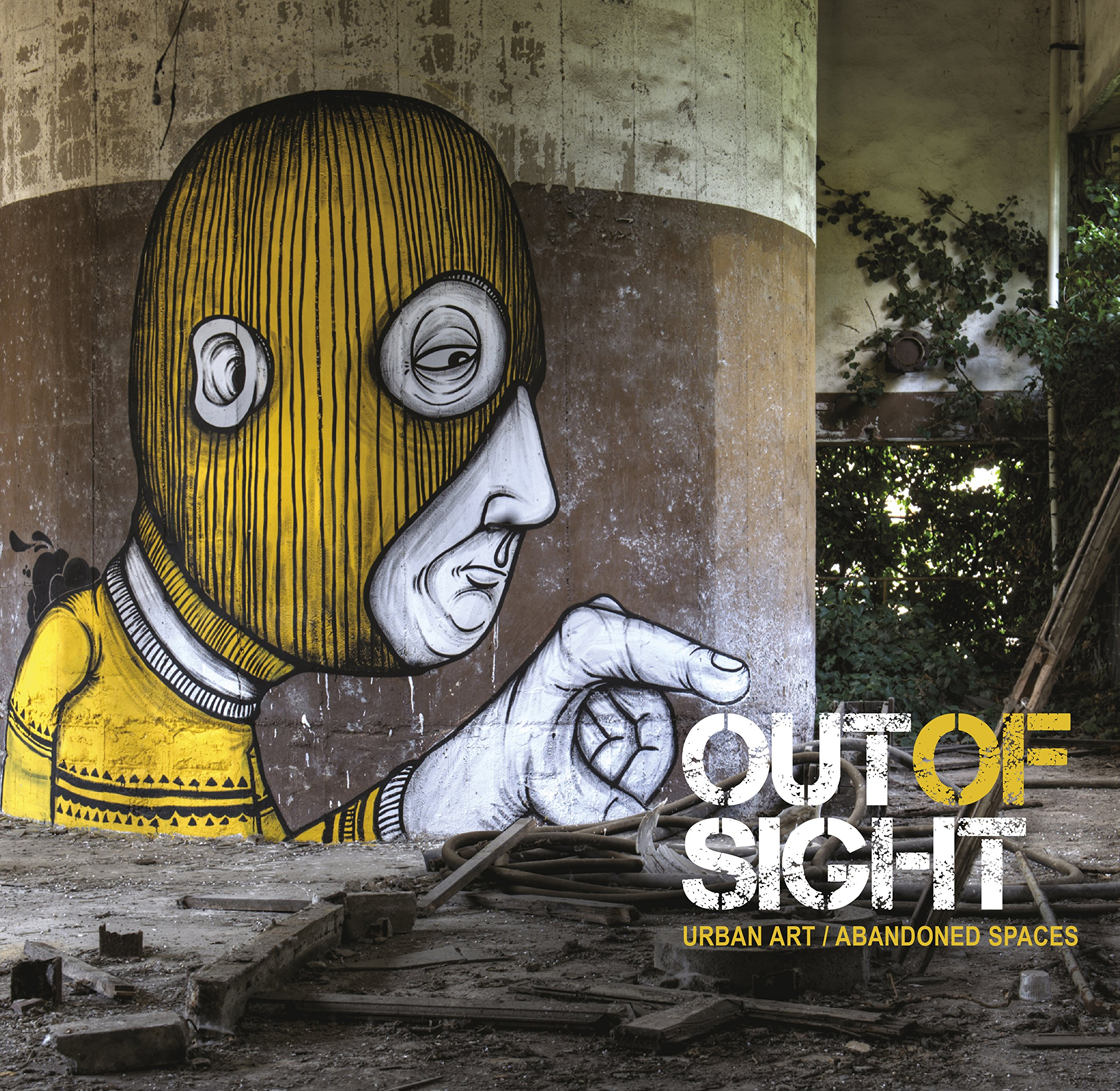 Out of Sight: Urban Art Abandoned Spaces – RomanyWG | 2560 x 2494 jpeg 1359kB